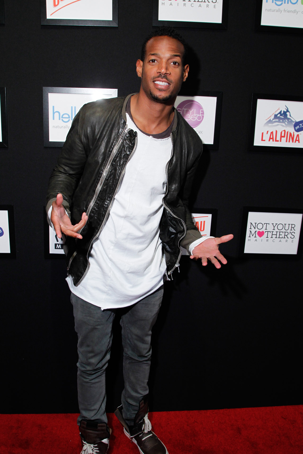 29_Comedian Marlon Wayans on the red carpet at STYLE360