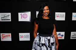 26_Actress Garcelle Beauvais on the red carpet at STYLE360