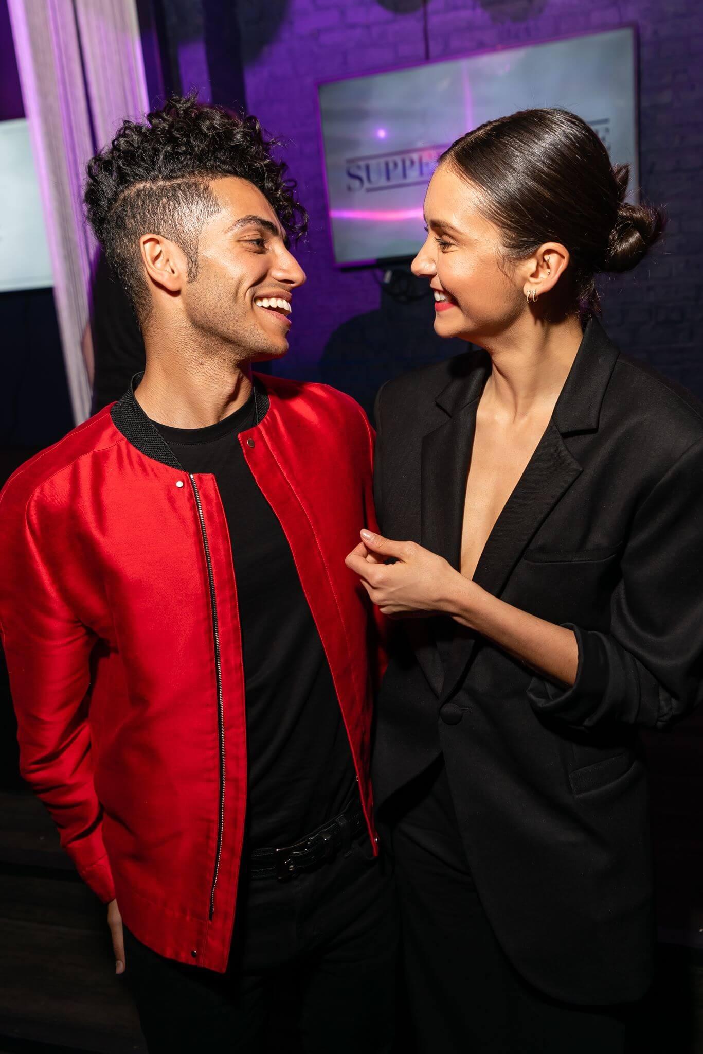 Nina Dobrev and Aladdin - Austin