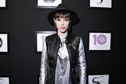 17_Supermodel Coco Rocha on the red carpet at STYLE360