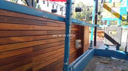 ציפוי קיר מעץ