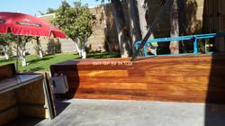 חיפוי קירות מעץ איפאה