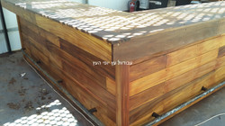 בניית בר מעץ איפאה