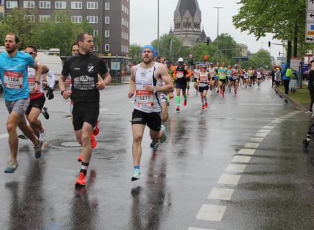 Dieter Schwarzkopf bester Schleswig-Holsteiner beim Hamburg-Marathon