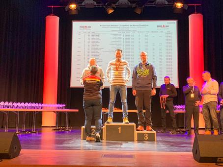 Matthias Jubt nach eisigem Rennen Deutscher Duathlon-Meister