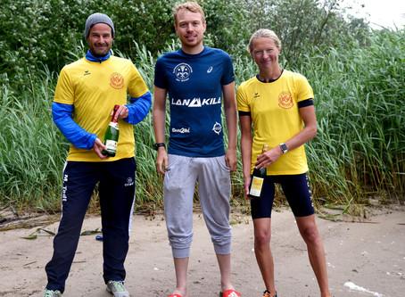 """Inke Dellius und Mathias Todt sind die BSV-""""Club de Fer""""-Triathlon-Chmpions 2020"""