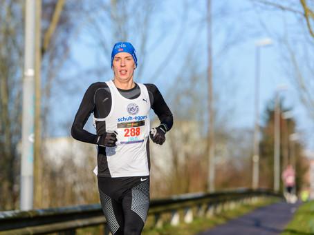 Sabine Andres gewinnt C-Serie der 9. Winterlaufserie im Dänischen Wohld in Altenholz