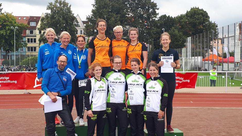 Triathlon-Landesliga: BSV-Damen beenden Saison auf Medaillenplatz