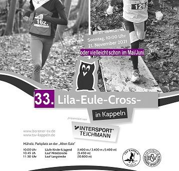 Lila-Eule-Cross kann auch im dritten Anlauf nicht stattfinden