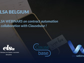 ClauseBase teams up with ELSA to launch document automation webinars