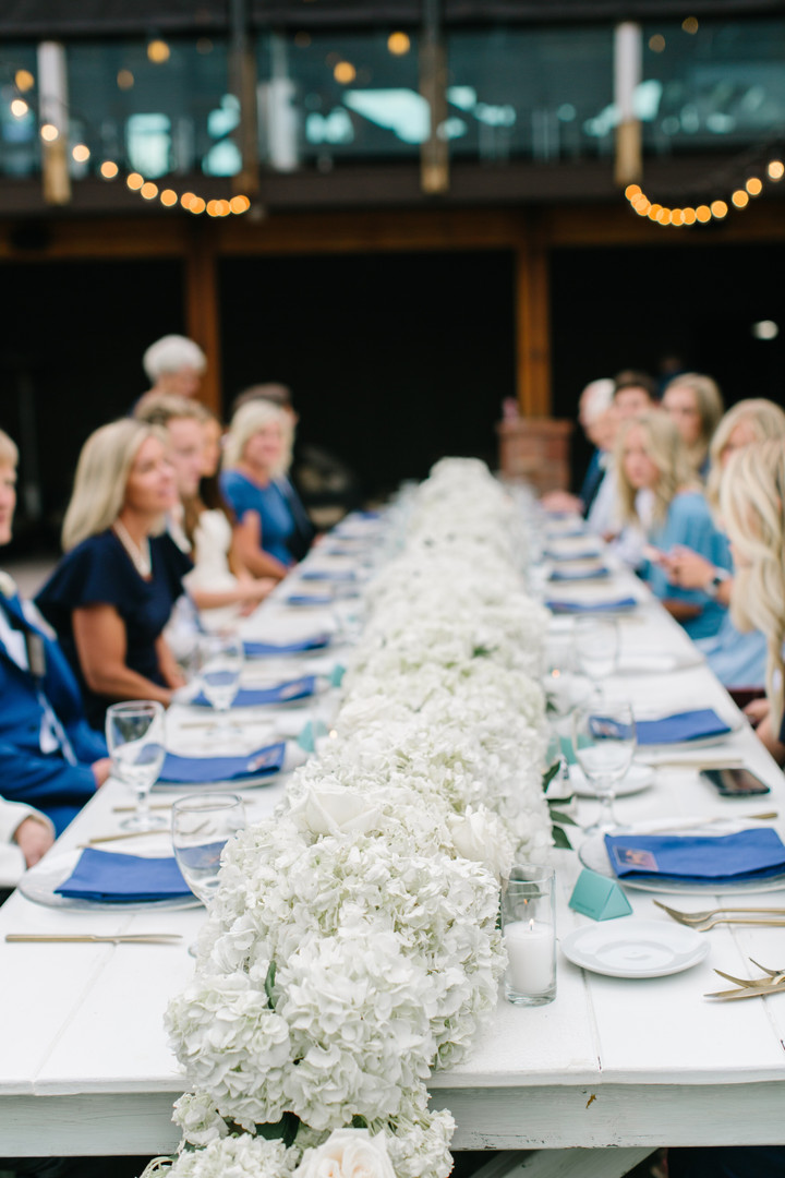 L+T Intimate Wedding Dinner
