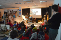 Cine, arte, música educación