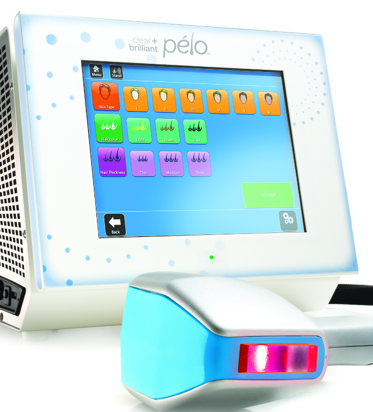 Pelo laser hair removal device