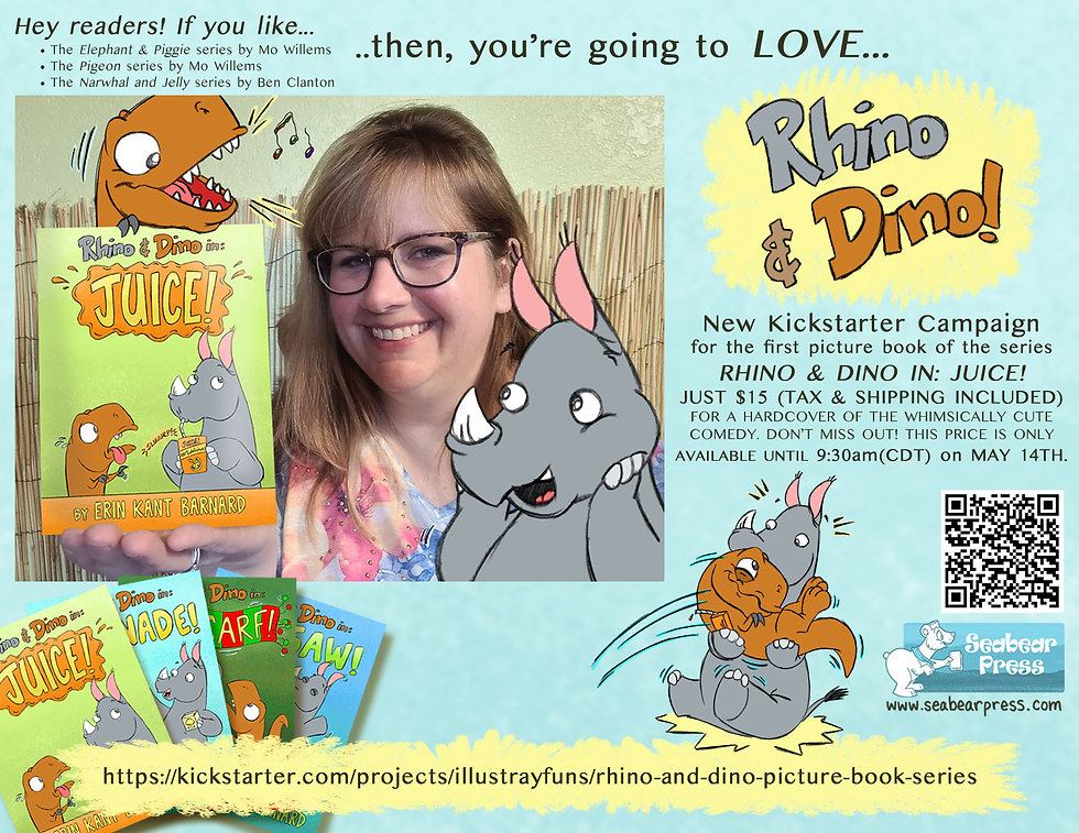 Rhino & Dino Picture Book Series by Erin Kant Barnard