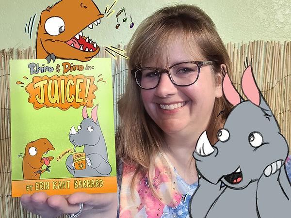 Erin Kant Barnard with New Rhino and Dino Book.jpg