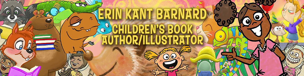 Children's Book Character Site Banner