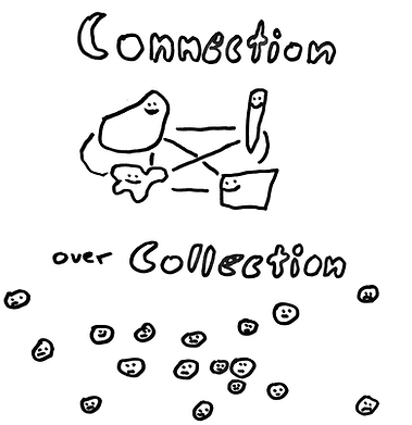 Connection over collection.png
