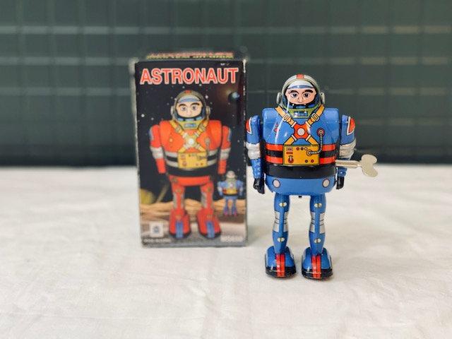 Robot astronauta vintage