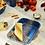 Thumbnail: Fuente rectangular S enlozado azul