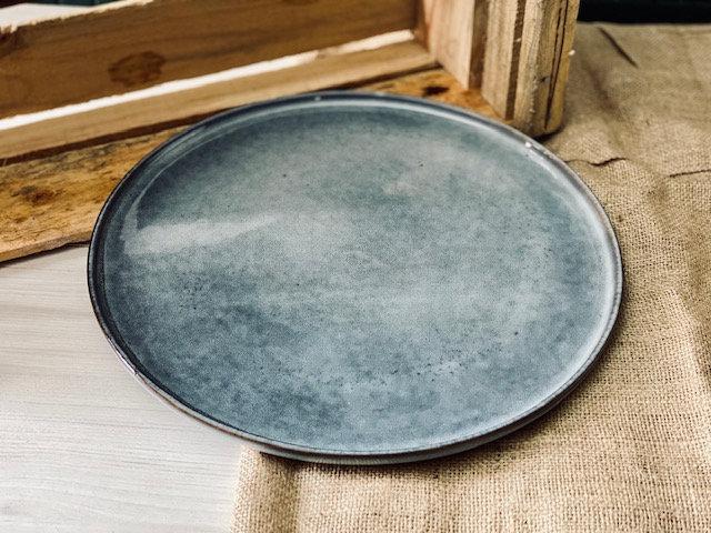 Plato XL o base gris piedra