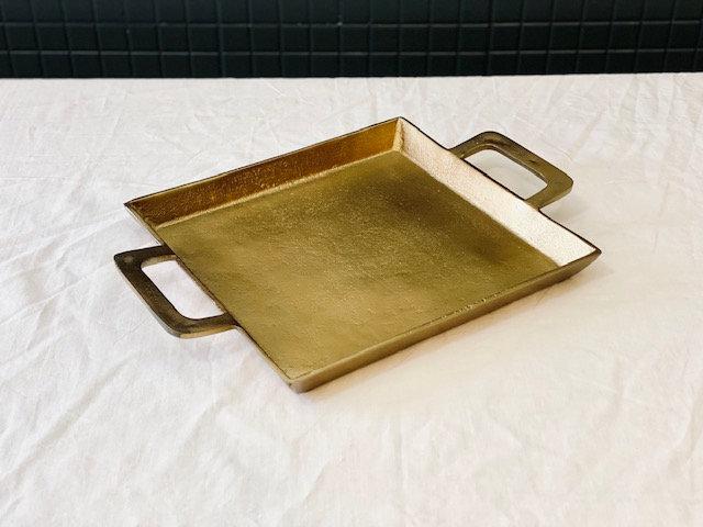 Bandeja bronce rectangular S