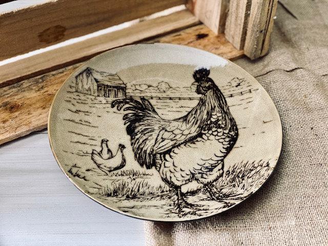 Plato fondo Farmhouse gallina
