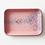 Thumbnail: Fuente rectangular L enlozado rosado