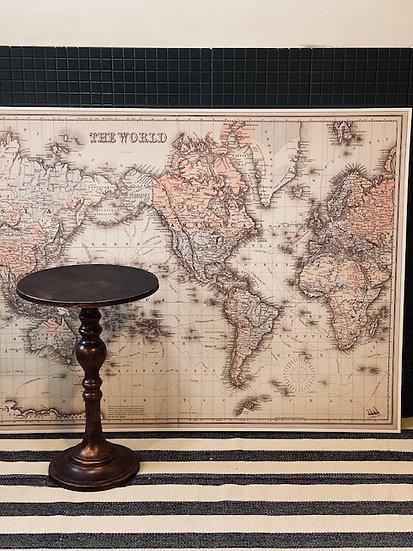 Cuadro Mapa del mundo 142x102