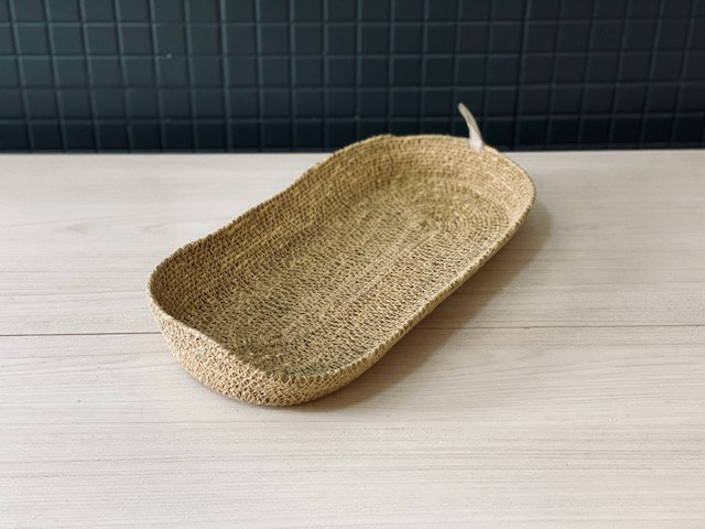 Canasto Canoa fibra L