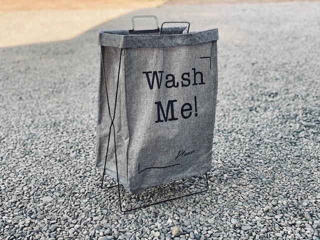 Basket plegable Gris Wash me