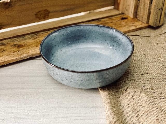 Bowl ensaladera gris azulado