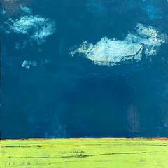 'One Day Like This'  Morag Smith  Acrylic on Board  32 x 32cm  £520