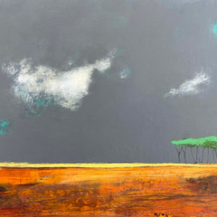 'Thank you for the Day'  Morag Smith  Acrylic on Board  43 x 32cm  £700