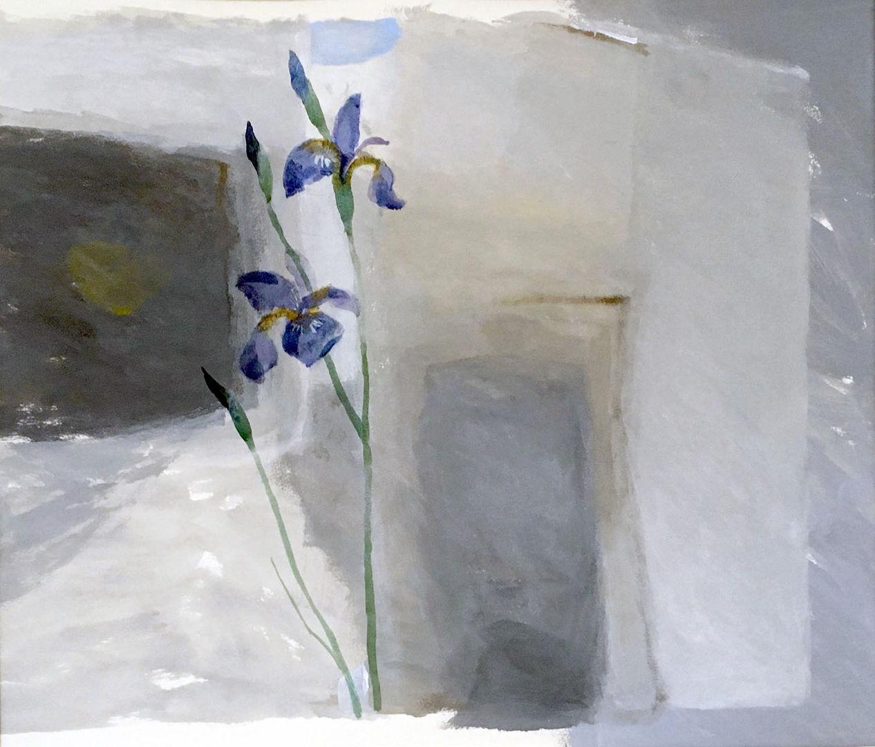 'Iris' Ian Kinnear RSW Acrylic on Paper £800