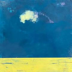 'Daydreaming'  Morag Smith  Acrylic on Board  32 x 32cm  £520