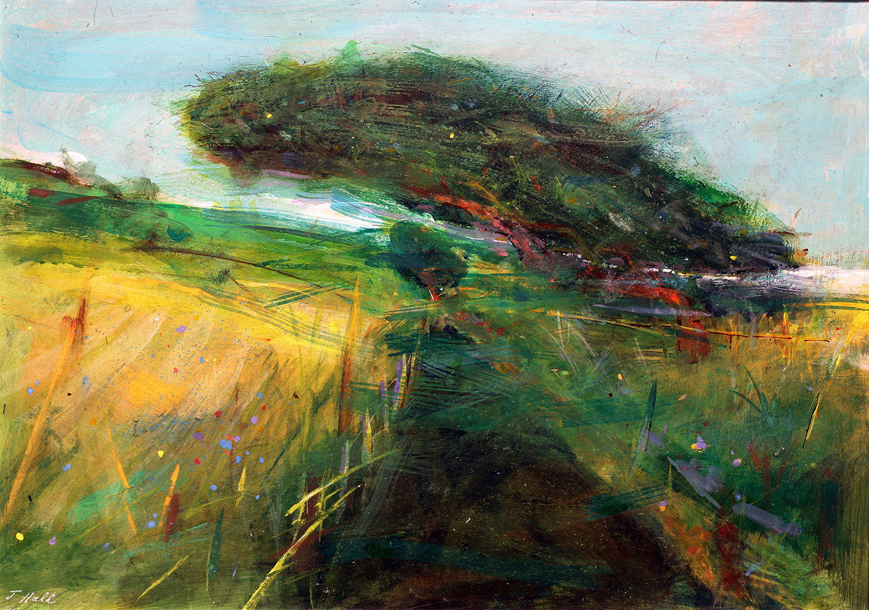 'The Path to Cowie Churchyard' John Hall Mixed Media 40x29cm £650
