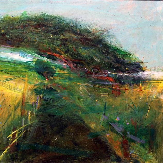 'The Path to Cowie Churchyard' John Hall Mixed Media 40x29cm £800