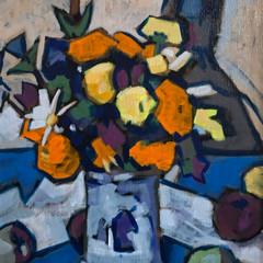 'Homage to Peploe 4' Bob Black Acrylic on canvas   38 x 46cm   £1450