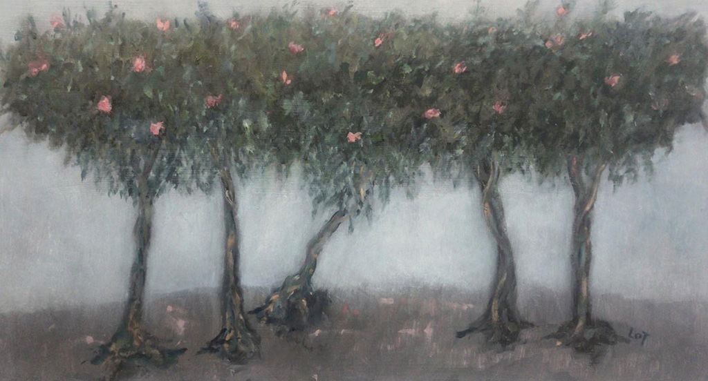 'Twisted Roots' Lorraine Taylor Oil on Canvas