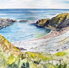 'Isolated, The Muckle Shore, Findon' Mor