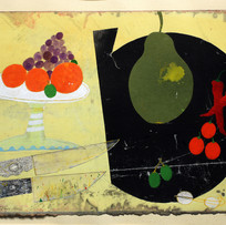 'Table Top Still Life'   John Hall Mixed Media 41x29cm £490