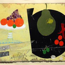 'Table Top Still Life'   John Hall  Mixed Media 41 x 29cm