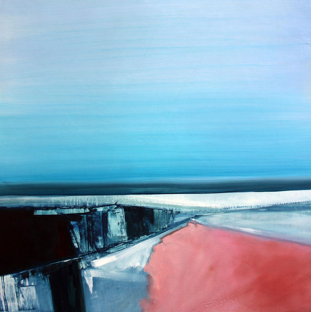 'Along the Distant Shore 3' Siobhan O'Hehir Oil on Board   51x52cm  £695