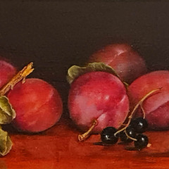 'The Magnificent Six'  Hilary Gauci  Oil on linen board 33 x 51cm   *SOLD*