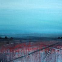 'Quieting Lands 2' Siobhan O'Hehir Oil on card 30x20cm £455