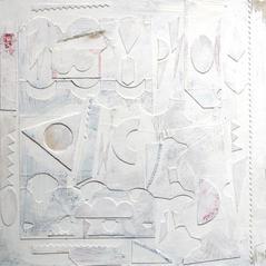 'Climate Change' John Hall Mixed Media   22 x 22cm