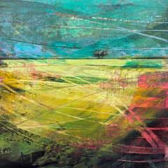 'When We're Dancing'  Morag Smith  Acrylic on Card  43 x 34cm  £380