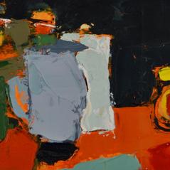 'Love It, or Hate It' Andrea Elles Oil on board 22x14cm £350