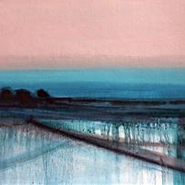 'Quieting Lands 1'   Siobhan O'Hehir Oil on card   30x20cm £455