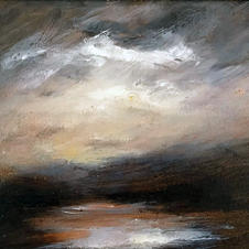 'Early Light Winter'  Ian Shields  Oil on canvas  10in x 8in  £350